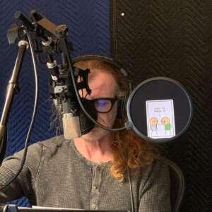 Dave Mustaine en el estudio